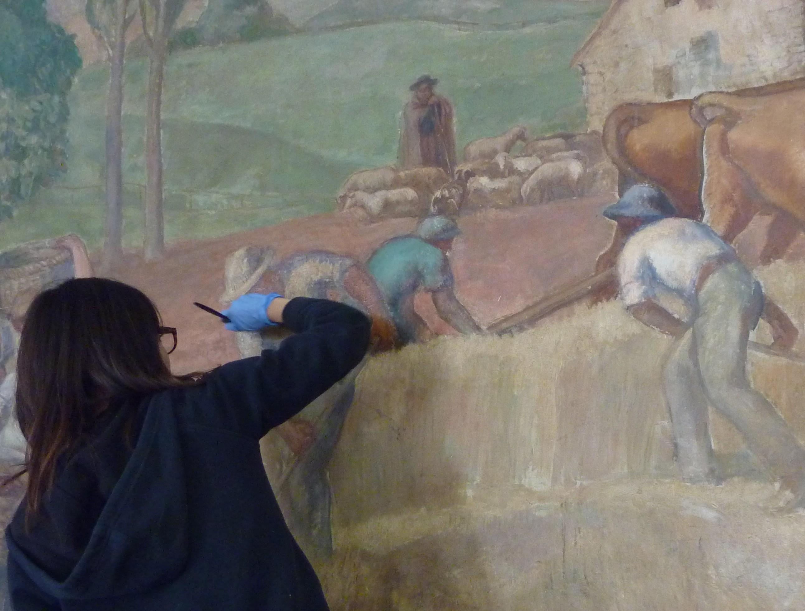 Conservation-Restauration   Conservation - Restauration de peintures