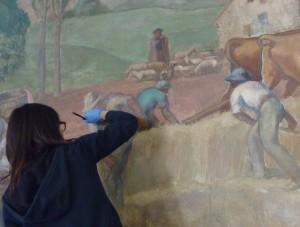 restauration peinture paris